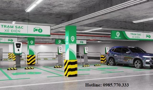 Tram sac o to dien vinfast tai trung tam thuong mai - Danh sách địa chỉ trạm sạc pin ô tô điện VinFast tại Hà Nội