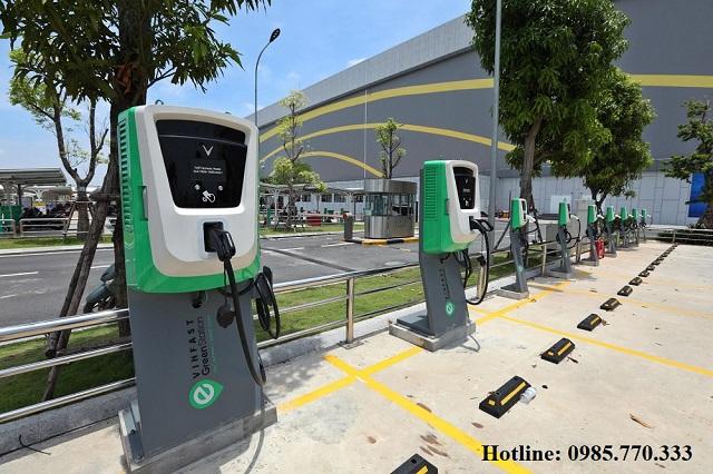 Tru sac nhanh DC 30kw o to vinfast - Danh sách địa chỉ trạm sạc pin ô tô điện VinFast tại Hà Nội