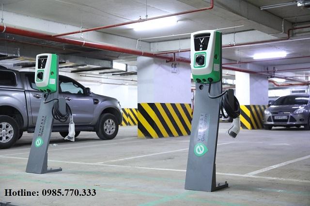 Tru sac thuong AC 11kw tai nha cho o to dien vinfast - Danh sách địa chỉ trạm sạc pin ô tô điện VinFast tại Hà Nội