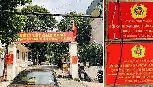 Diem dang ky xe so 1 tai 342B Thai Ha Ha Noi 1 500x286 - Thời gian làm việc và Địa chỉ các điểm đăng ký ô tô tại Hà Nội