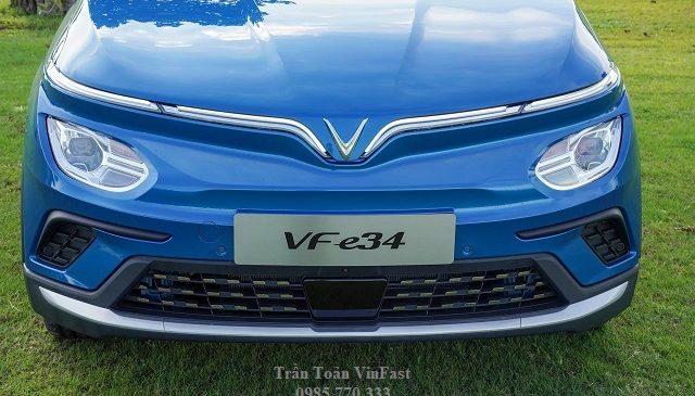 phan dau xe o to dien vinfast vf e34 1 640x365 - Danh sách địa chỉ trạm sạc pin ô tô điện VinFast tại Hà Nội
